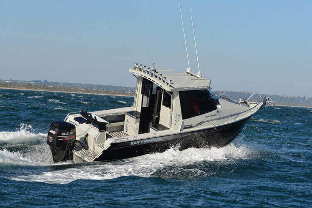 Barcrusher launches new Hard Top Pilothouse Series