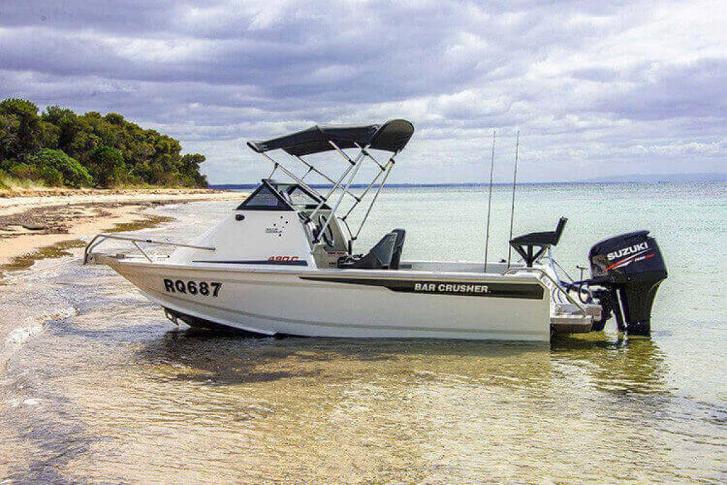 Bar Crusher Launches the 490C and 490WR Aluminium Boats